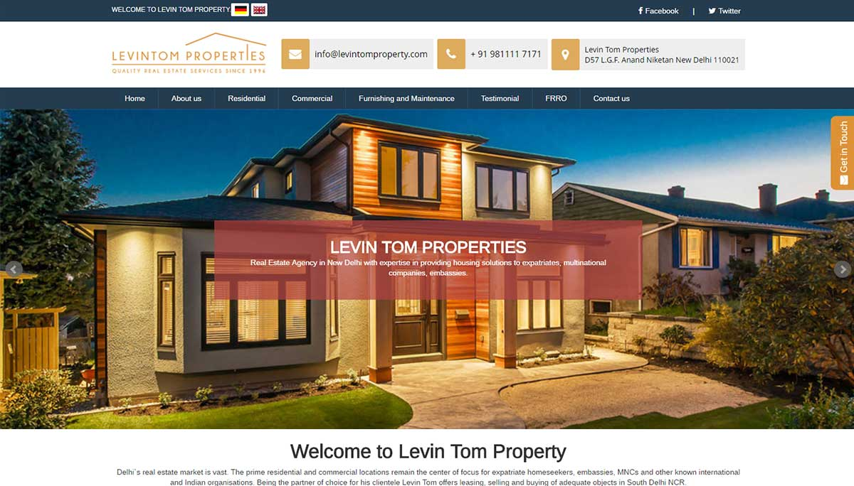 Levin Tom Properties
