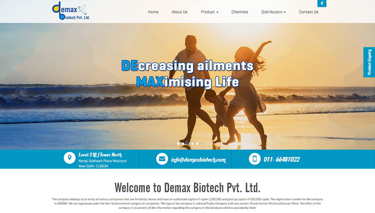 Demax Biotech Pvt. Ltd.