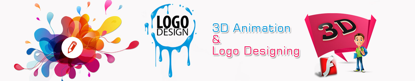 3D animation logo designing services