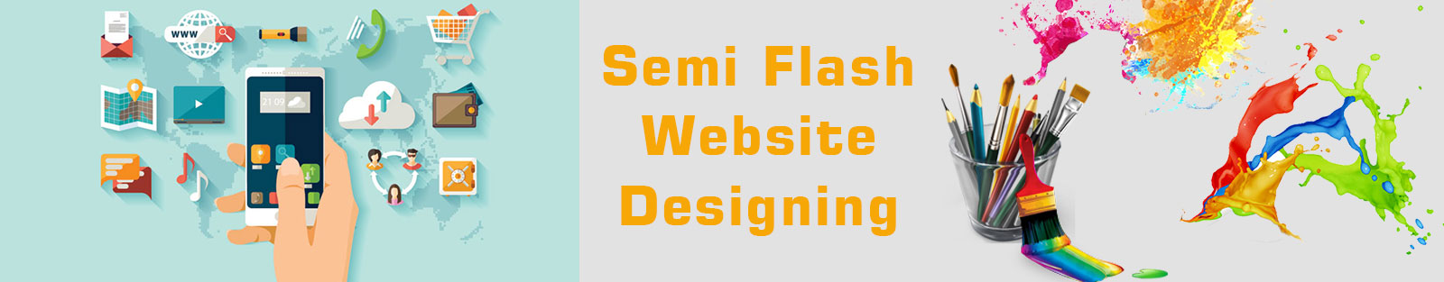 Semi Flash Website Designing